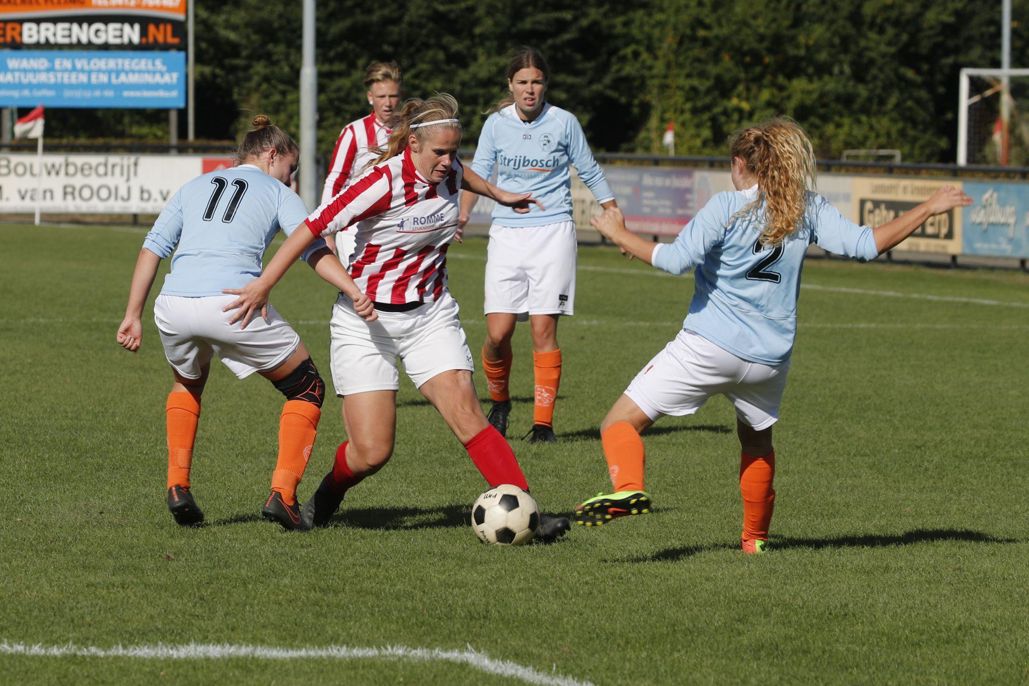 Selectie oefenwedstrijd Nooit Gedacht VR1 - FC Kunde VR1