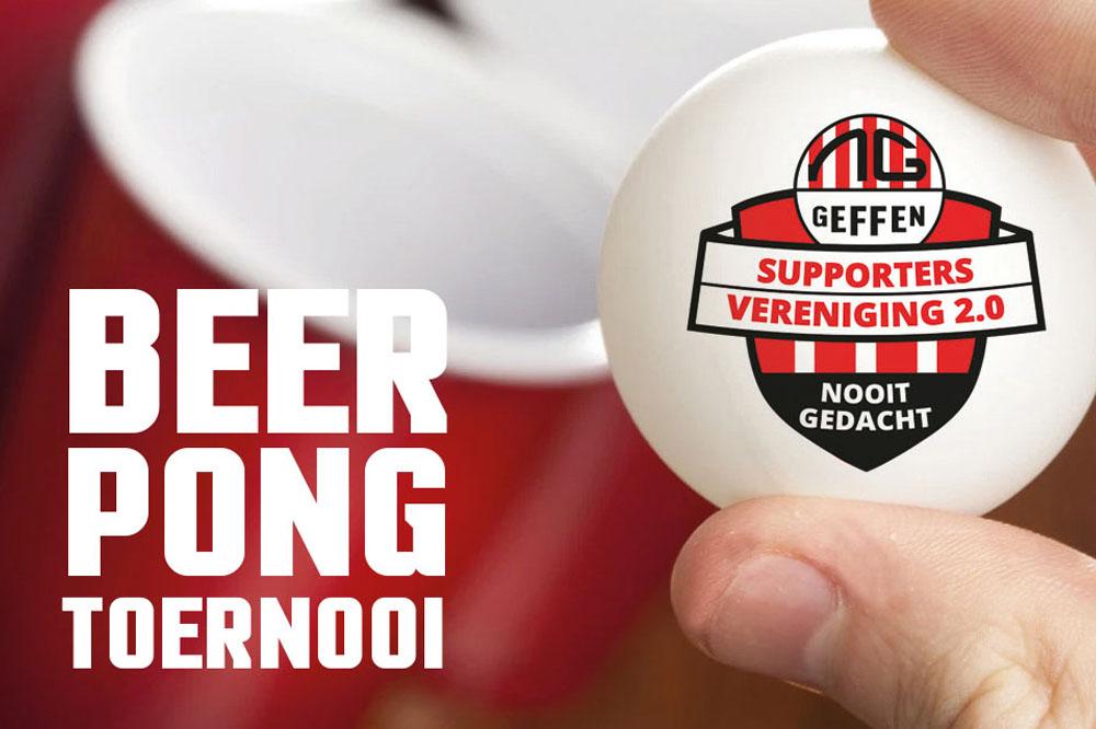Eerste editie Beerpong Toernooi GROOT SUCCES!