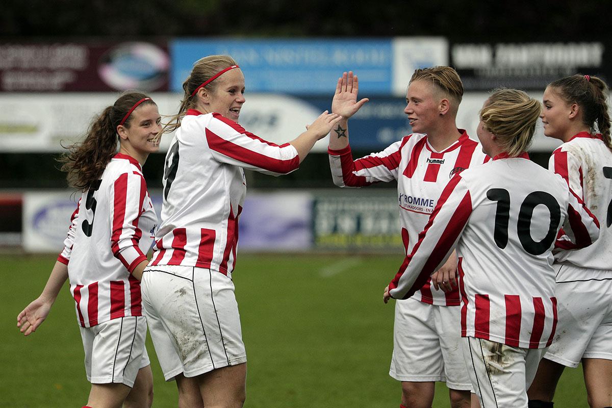 Doelpunten vier je samen, nu ook in de app Voetbal.nl