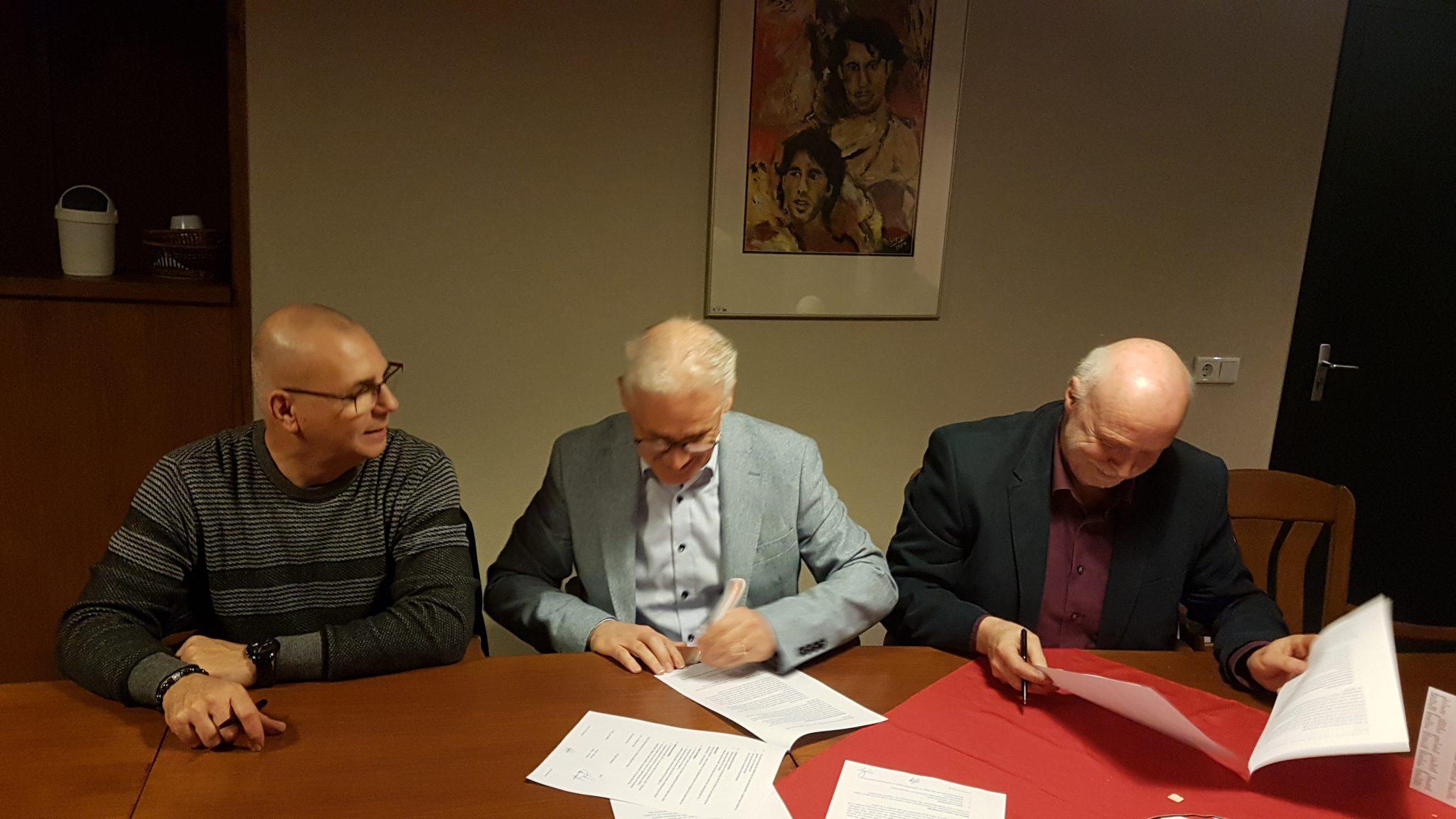 Overeenkomst 'vitale sportvereniging' ondertekend!