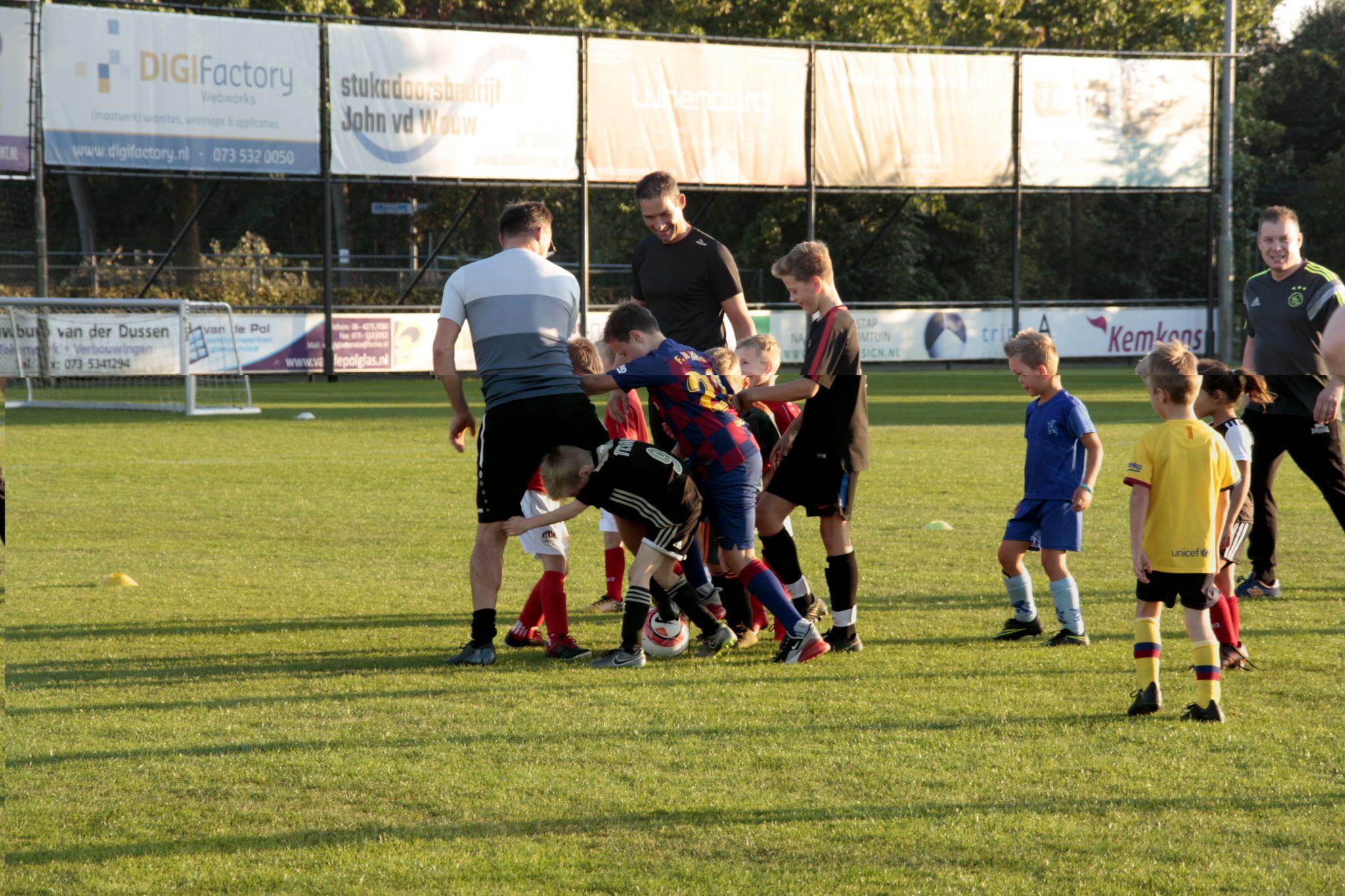 Fotoverslag Ouder-Kind voetbal