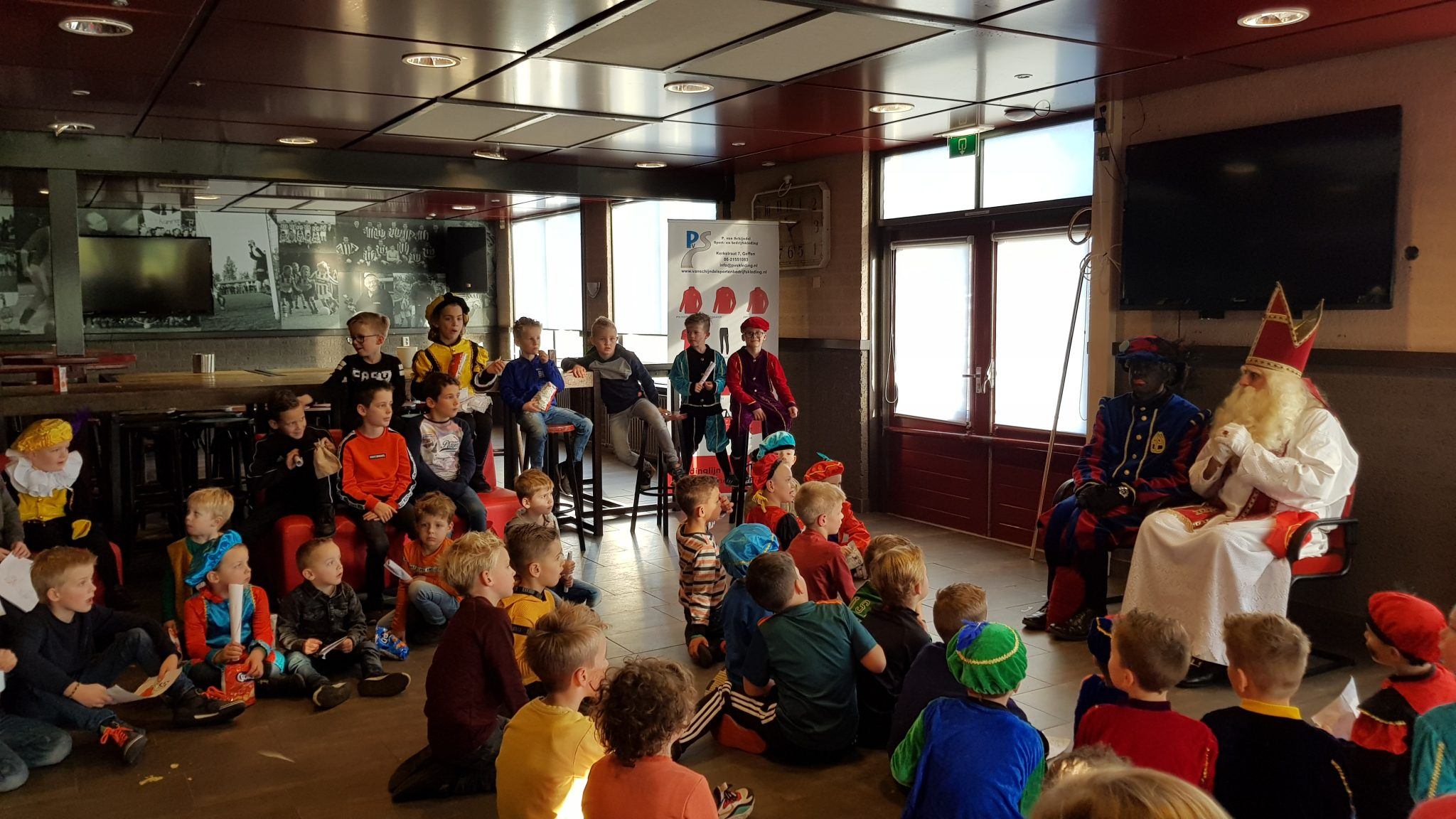 Fotoverslag: Sinterklaas bij Nooit Gedacht