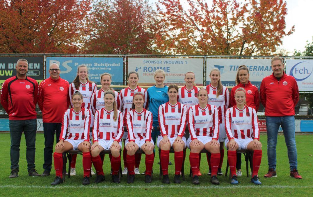 Vrouwen 1 speelt tegen FC Twente!