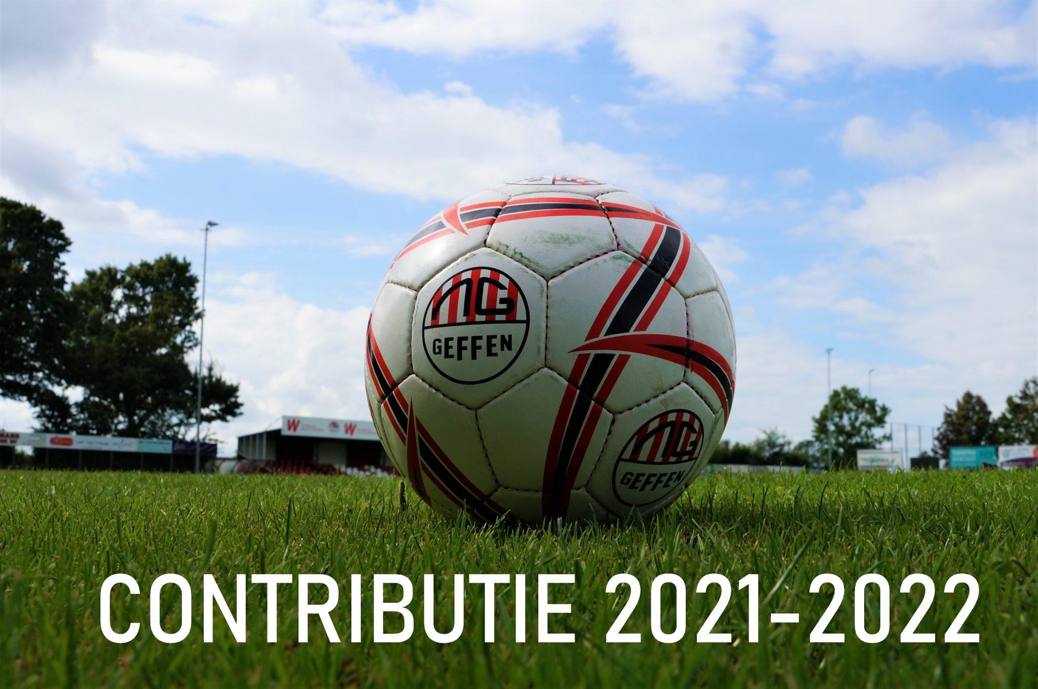 Informatie contributie 2021-2022