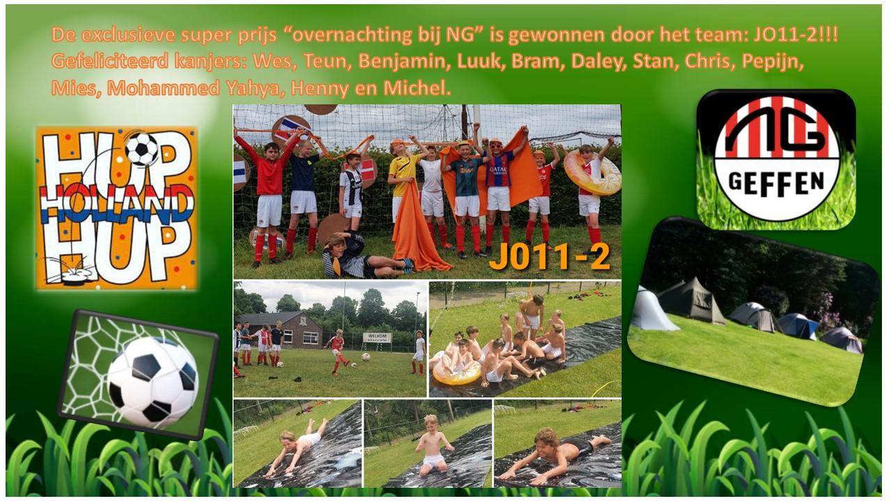 JO11-2 winnaar activiteit EJK 2022!