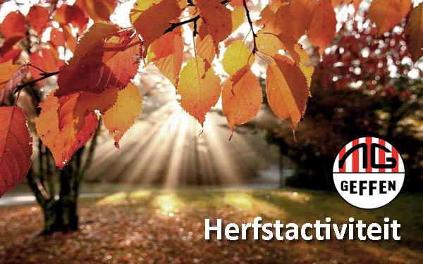 Informatie en aanmelden herfstactiviteit jeugd