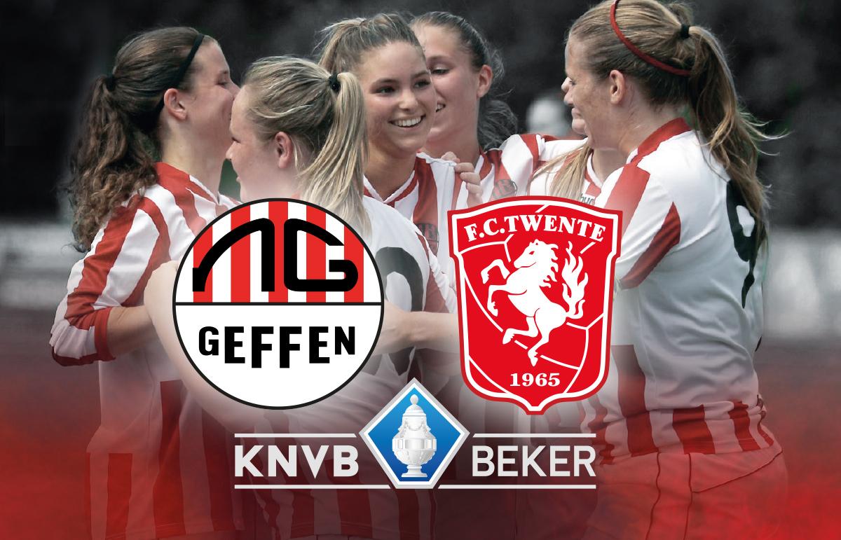 KNVB Beker: Nooit Gedacht Vrouwen 1- FC Twente