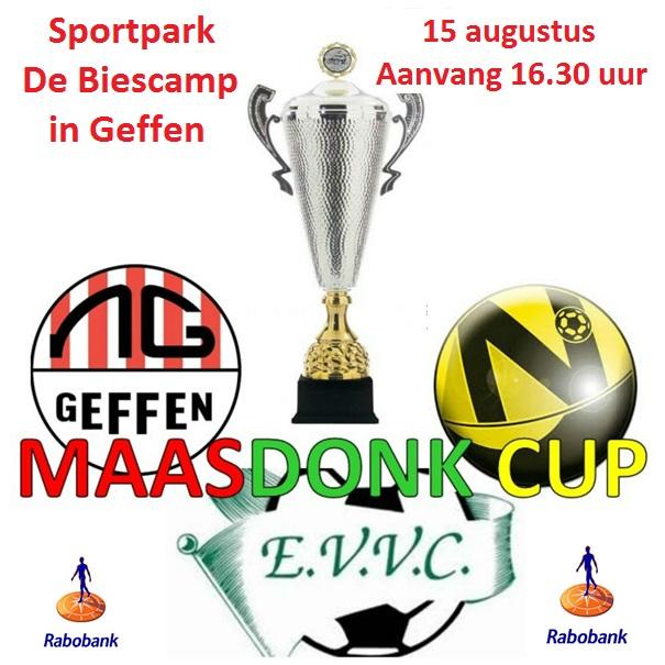 Maasdonkcup op 15 augustus