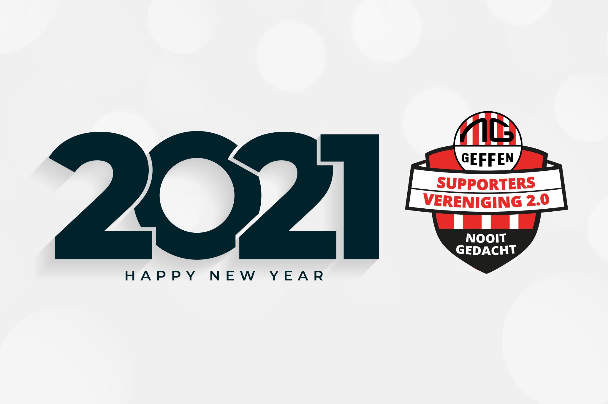 Supportersvereniging: gelukkig nieuwjaar!